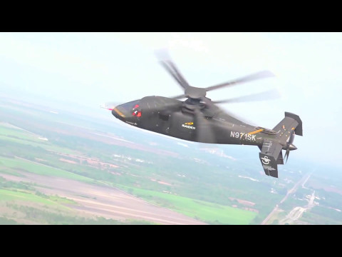 Sikorsky - S-97 Raider Attack Helicopter [1080p]