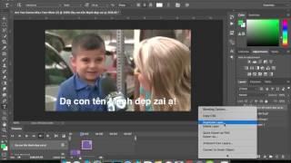 Hướng dẫn photoshop hình động từ video 'Are You gonna miss your mom?' chủ đề valentine day