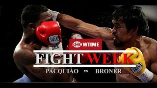 Pacquiao vs Broner| SHOSPORTS