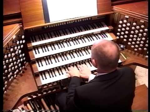 Jonathan Biggers Organ Concert 2005 at St.Philips Cathedral, Atlanta:  Part 1