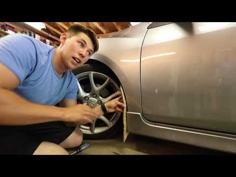 How To Install Universal Rally Armor Mud Flaps (Mazdaspeed 3)