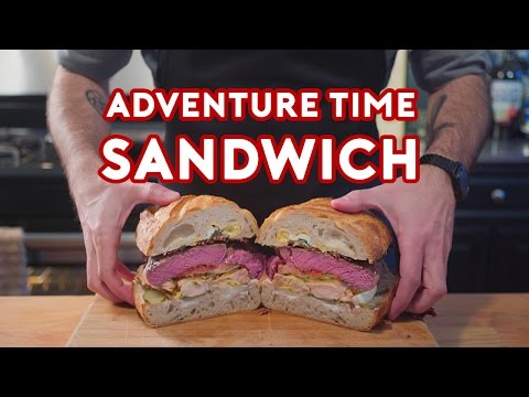 Binging with Babish: Jake's Perfect Sandwich from Adventure Time