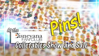 Disneyana Collectable Show and Sale Walk Through - PINS!