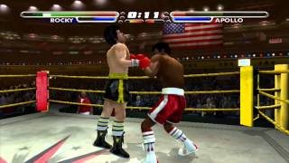 Rocky Legends - Rocky Balboa vs Apollo Creed. (HD)
