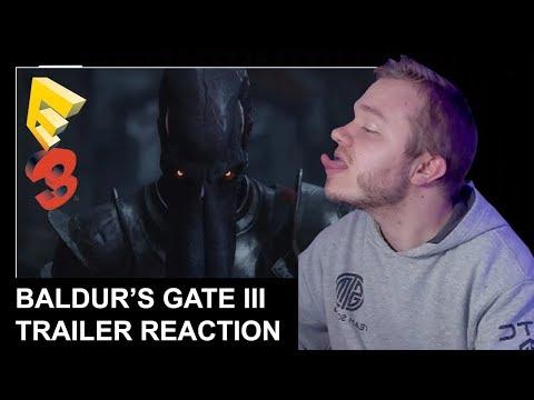 REACTION: Baldur's Gate III E3 Announcement Teaser |