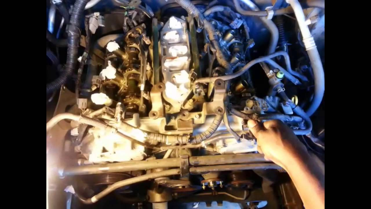 nissan frontier timing chain diagram how to prune a fig tree 2005 2008 replacement part 1 youtube