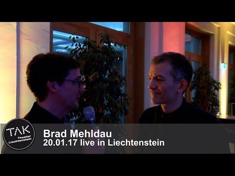 TAK-Backstage mit Brad Mehldau, live in Liechtenstein 20.1.2017, Interview
