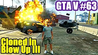 CLONED IN BLOW UP 3 - GTA 5 Online CoOp PS3 #63