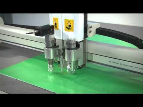 JWEI CNC Cutting Plotter, Flatbed Digital Cutter,CUTTING TABLE FOR PVC TENT CANVAS