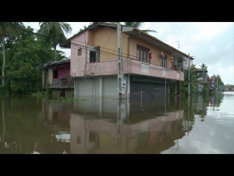 afpes: Las inundaciones dejan 177 muertos en Sri Lanka