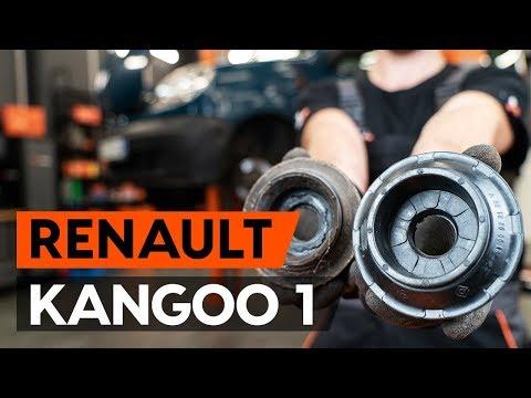 Как заменить опору передней стойки амортизатора RENAULT KANGOO 1 (KC)   [ВИДЕОУРОК AUTODOC]