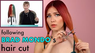 I try Brad Mondo's Hąir Cut on Myself