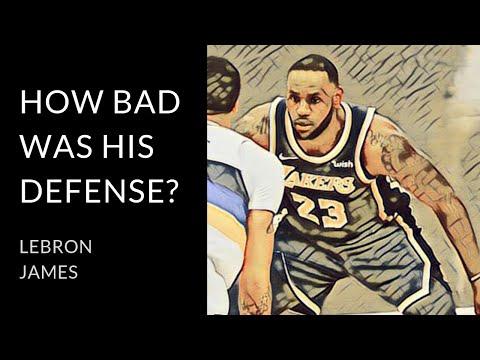 LeBron James   Examining his defense in 2019