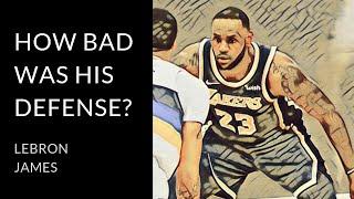LeBron James | Examining his defense in 2019