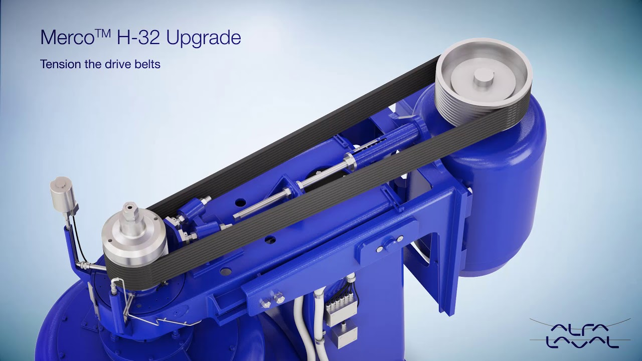 alfa laval merco 32 starch separator upgrade for better performance [ 1280 x 720 Pixel ]