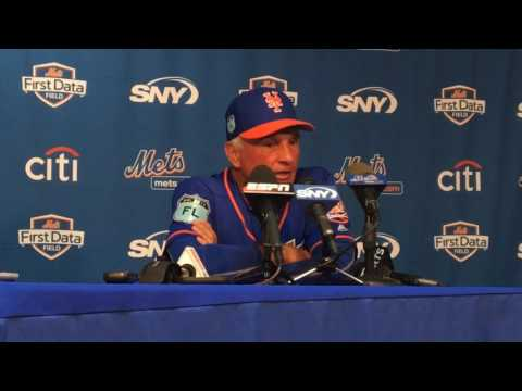 Mets' Tim Tebow and Terry Collins talk Tebow's first Grapefruit League game