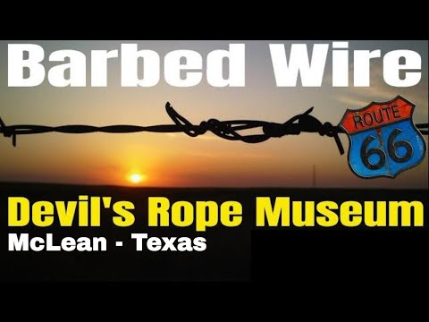 Barbed Wire Fence - Devil's Rope Museum