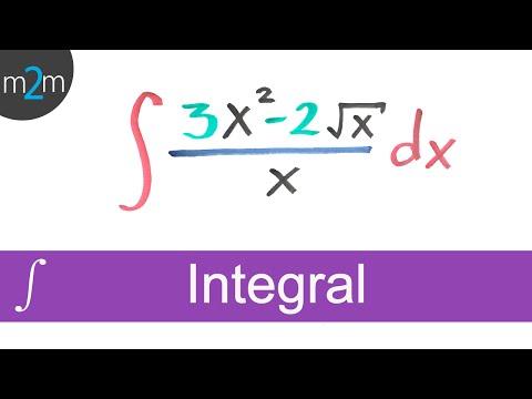 Integral de una función algebraica │ ejercicio 1