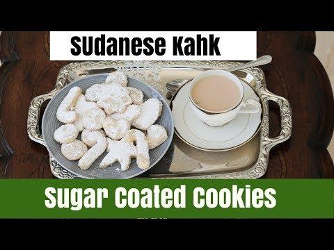 Sudanese Kahk - Sugar Coated Cookies