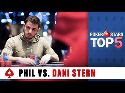 Top 5 Poker Moments - Phil Hellmuth vs. Dani Stern   PokerStars.com