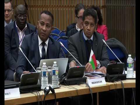 JADN2016 : M. le Ministre RAKOTOMAMONJY, Madagascar