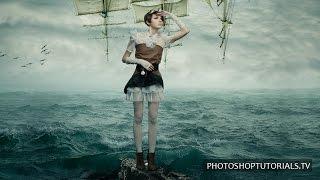 Photoshop CC Tutorial: Fantasy Effects - Sail