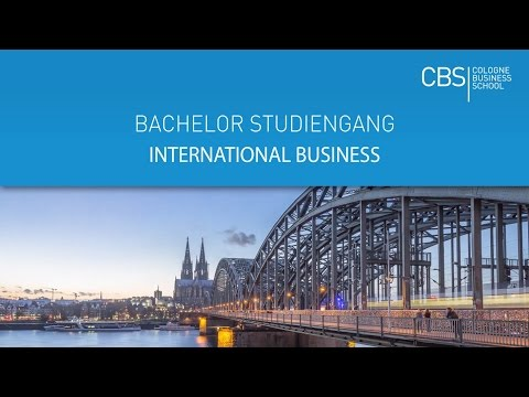 Bachelor in International Business | englischsprachiger Studiengang | CBS Cologne Business School