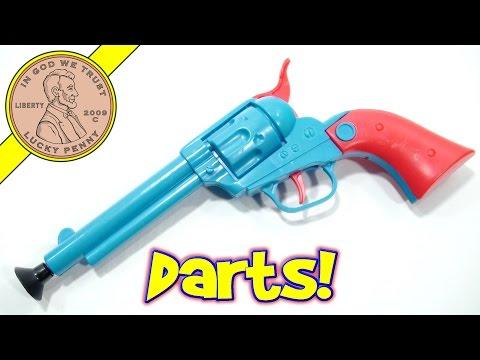Bottle Buster Western Dart Gun Set - Shoot 'Em Up Partner!