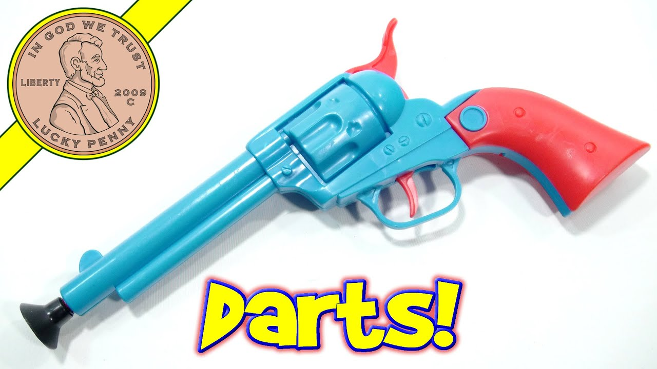 Preferred Bottle Buster Western Dart Gun Set - Shoot 'Em Up Partner! - YouTube FG47