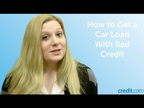 How to Get a Car Loan With Bad Credit - YouTube