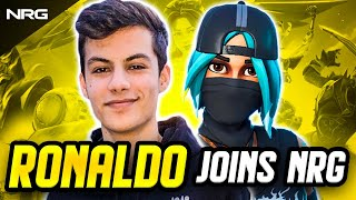 Ronaldo Joins NRG Fortnite | Official Announcement Video