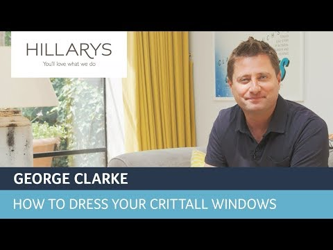 How to dress your Crittall windows with George Clarke