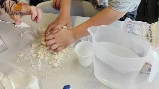 Les Tutos d'Huguette : fabrication de pâte à sel