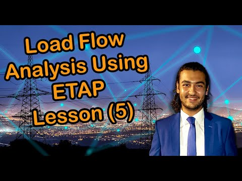 load-flow-analysis-using-etap-lesson-(5)-for-power-system-engineering-courses