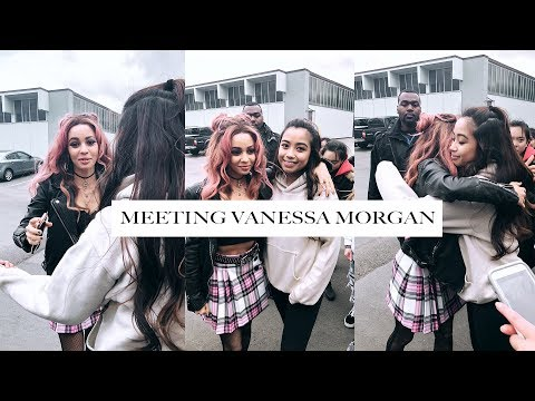 MEETING VANESSA MORGAN FROM RIVERDALE video footagepictures