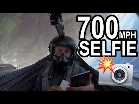 19 Y/O FLYS 700 MPH FIGHTER JET