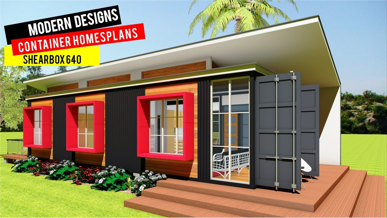 Shipping Container HOMES PLANS and MODULAR PREFAB Design ...