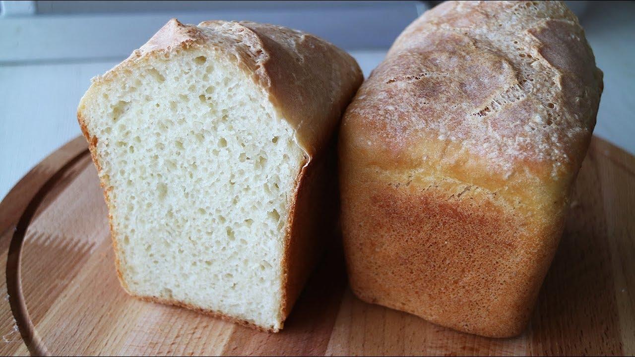 Домашний Хлеб Рецепт для тех кто не любит долго месить тесто