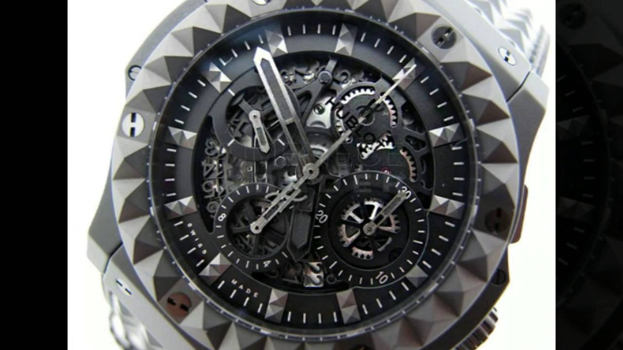 hublot big bang - depeche mode - clean water project special edition