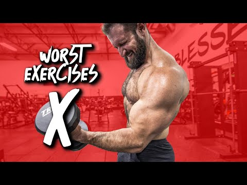 WORST EXERCISES For Muscle Growth (Don't Be That Guy!)