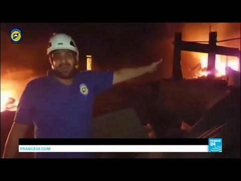 Syria: UN aid convoy hit by air strike near Aleppo, several feared dead