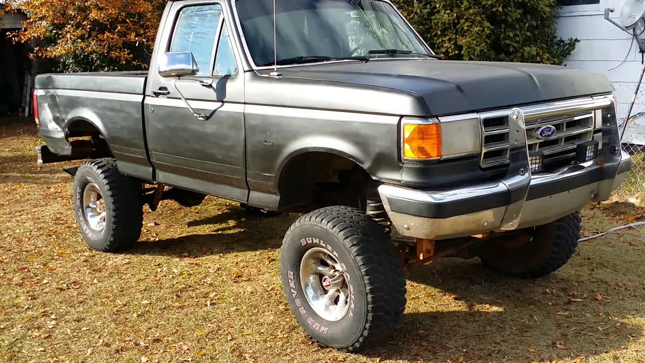 88 Ford F150 4x4