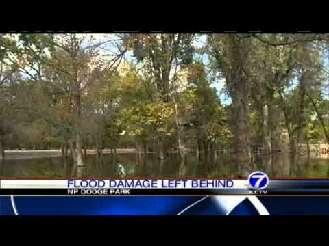 Flood Leaves Mess At Omaha Park