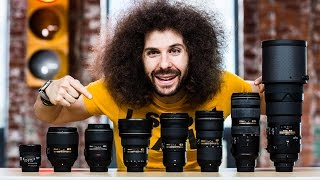 "My ""ULTIMATE"" NIKON Full Frame Lens Kit"