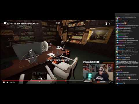 "SUMMIT1G REACTS TO ""Payday2 The Big Bank DeathWish Solo Speedrun"""