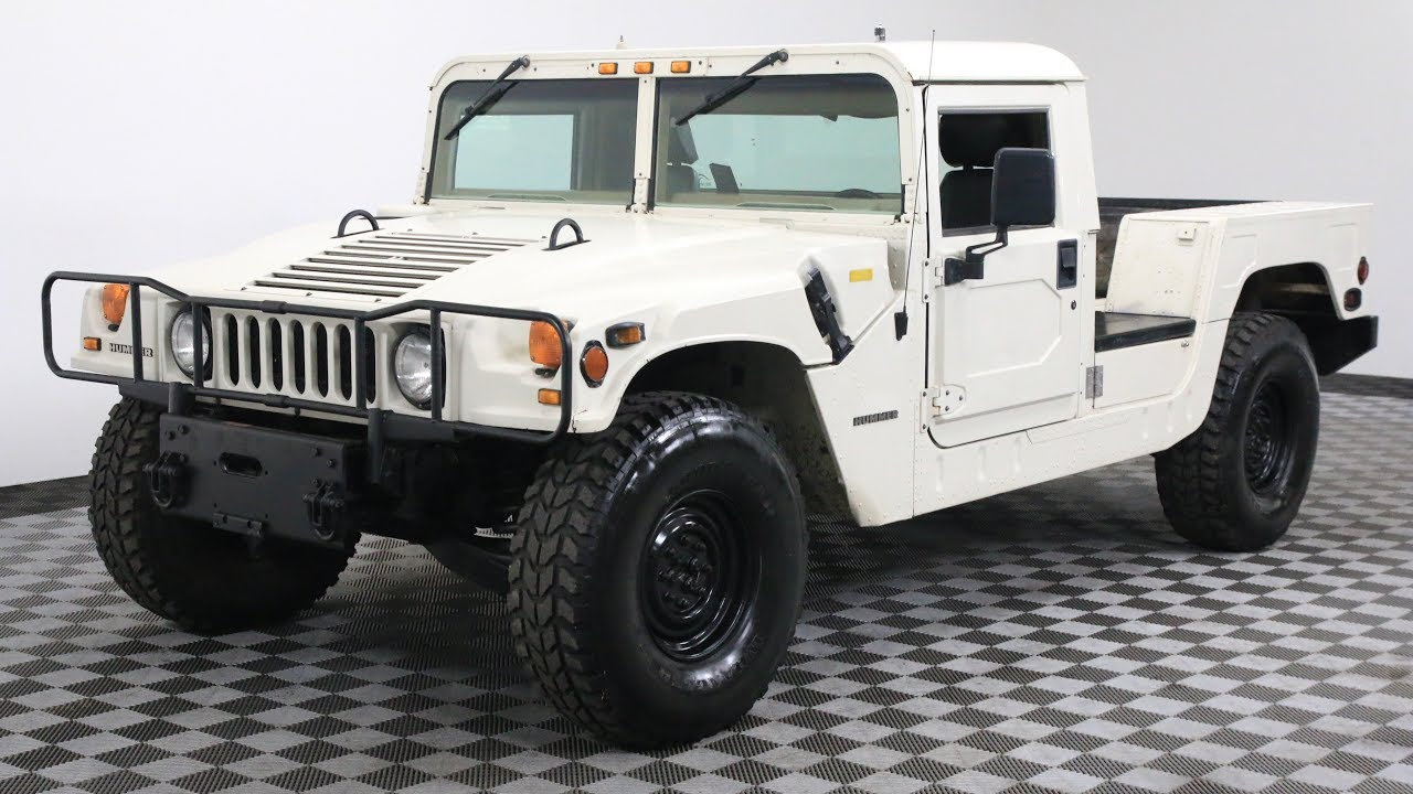 1995 AM GENERAL HUMMER H1 - YouTube