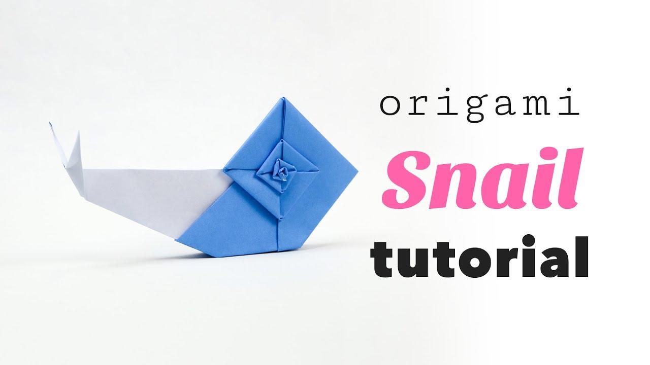 Origami Snail Tutorial ♥︎ Designed by Eric Gjerde ♥︎ Paper ... - photo#13