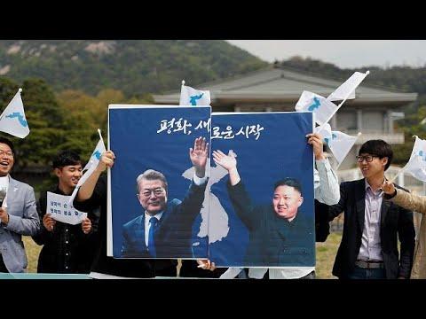 Güney ve Kuzey Kore arasındaki tarihi zirve Seul'de başladı