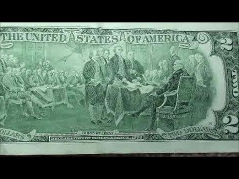 CURRENCY HUNTING searching $2 bills for errors and fancy serial numbers
