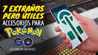 7 EXTRAÑOS PERO ÚTILES Accesorios Para Pokémon GO [algunos no tan útiles xD] thumbnail